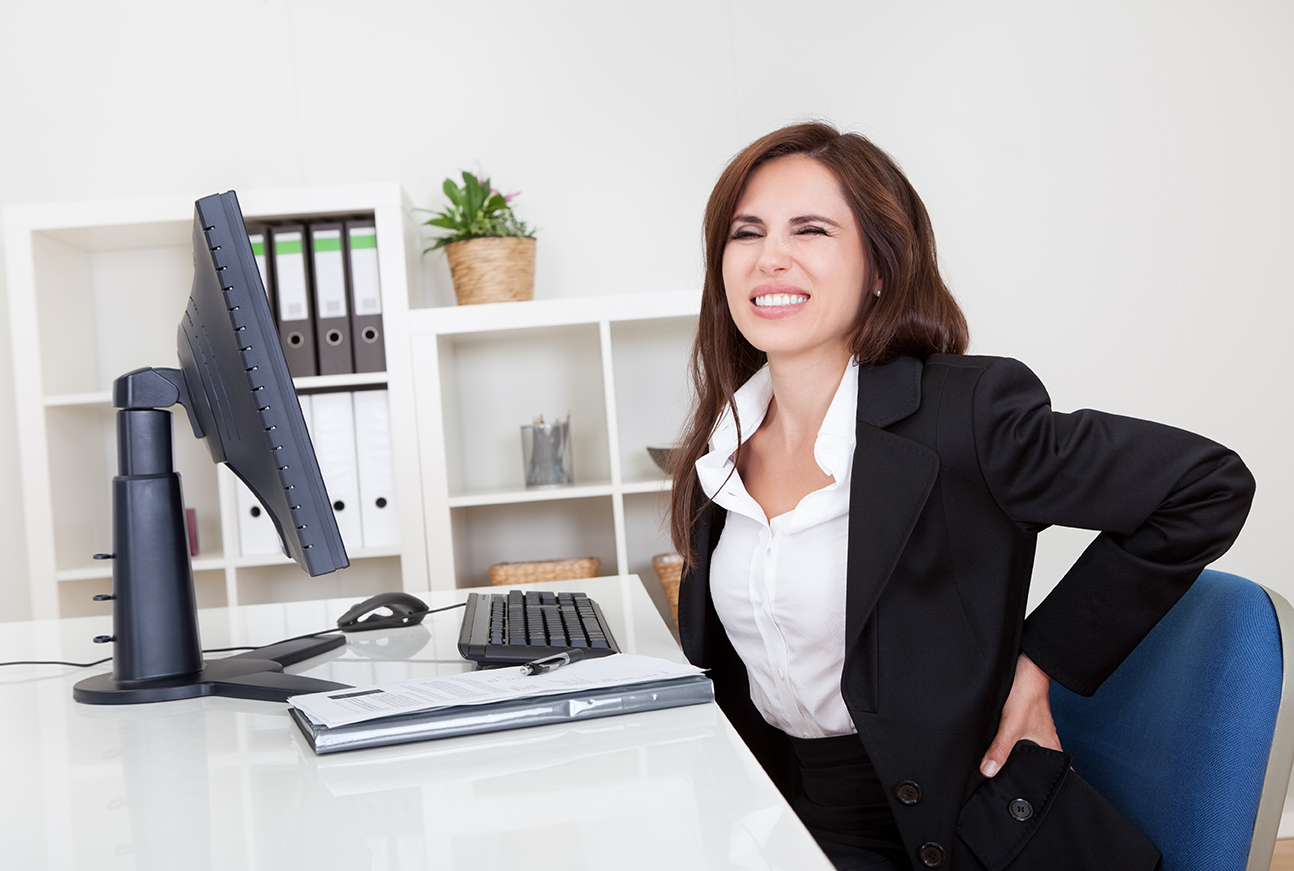 Combating Back Pain From Office Chairs